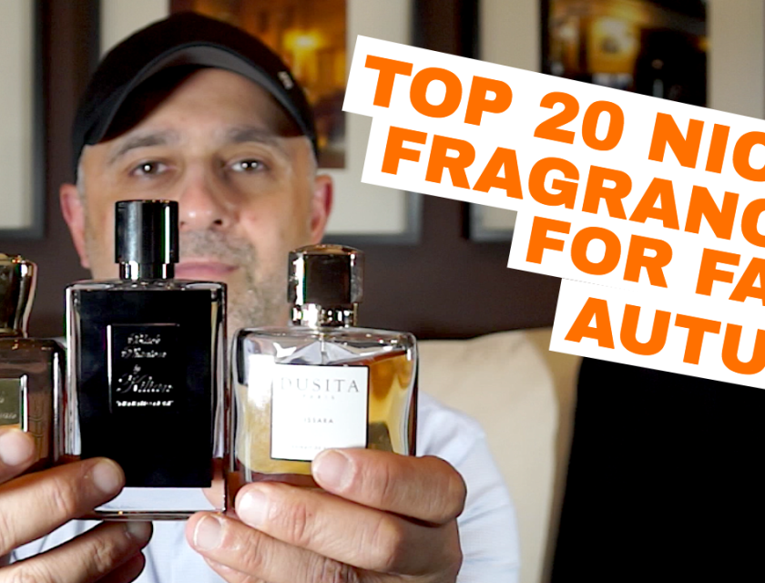 Top 20 Niche Fragrances For Fall, Autumn