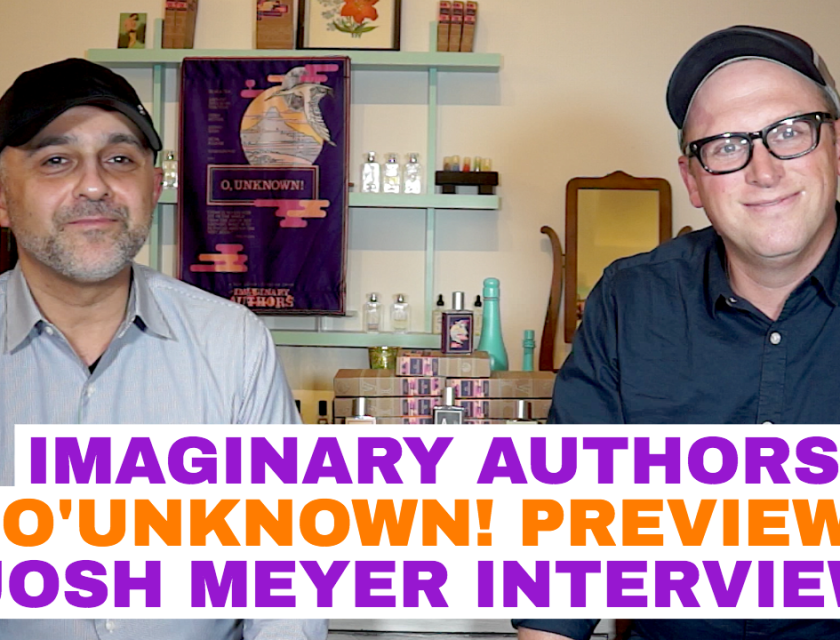 Imaginary Authors O'Unknown Josh Meyer Interview