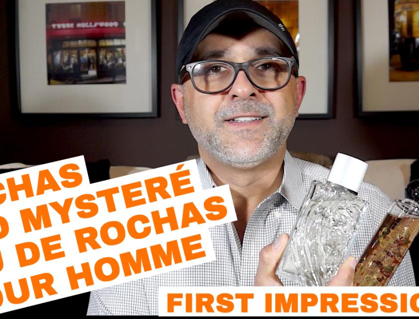 Rochas Oud Mystere, Eau De Rochas Homme First Impressions