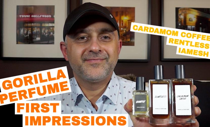 Gorilla Perfume Cardamom Coffee, Rentless, IAMESH