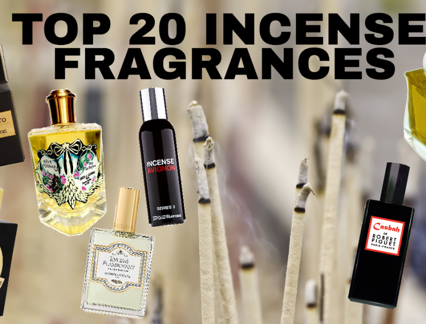 Top 20 Incense Fragrances, Perfumes