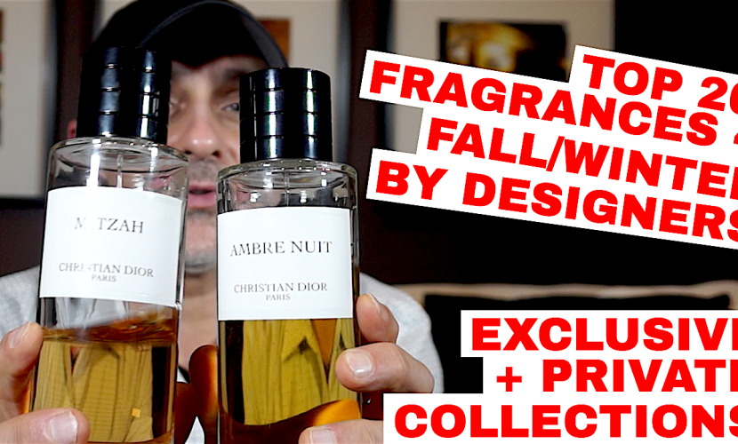 Top 20 Fragrances 4 Fall, Winter By Designers