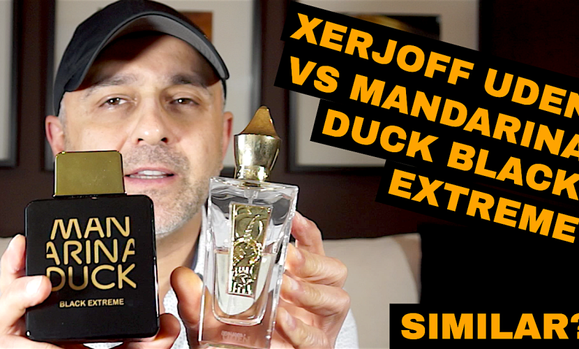 Xerjoff Uden vs Mandarina Duck Black Intense