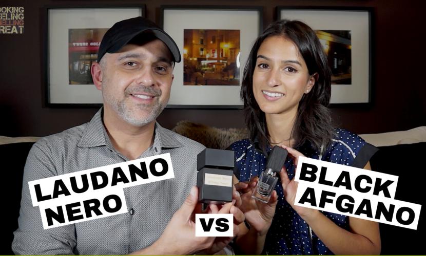 Nasomatto Black Afgano vs Tiziana Terenzi Laudano Nero