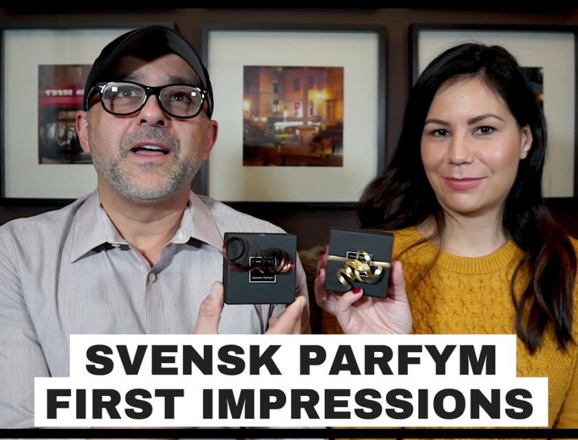 Svensk Parfym Fragrances First Impressions