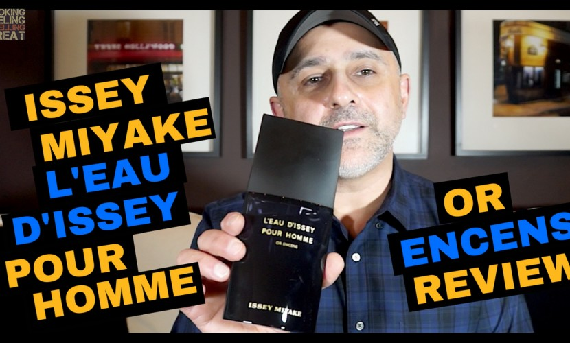 Issey Miyake L'Eau d'Issey Pour Homme Or Encens Review
